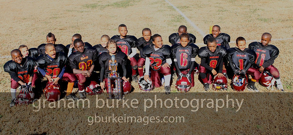 North Carolina Youth Football League Mallard Creek VT Hokies 2010 Tiny Division Champions